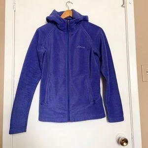 Columbia fleece full zip Jacket pull over size M